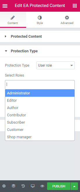 How To Create a Restricted Content Page Using Elementor 23