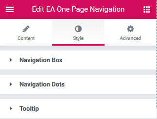 Create Beautiful One Page Websites Using One Page Navigation for Elementor 7