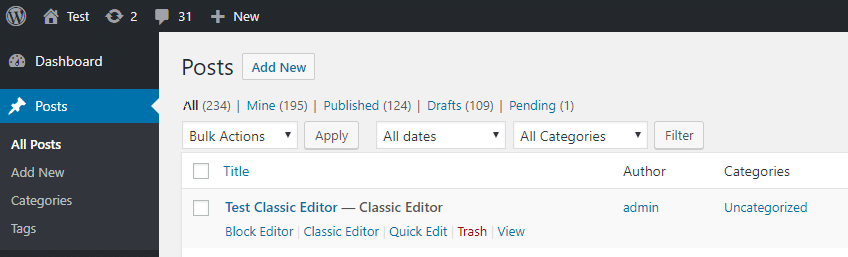 How To Keep Using The Classic WordPress Editor & Disable Gutenberg 6