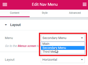 How to Use Nav Menu Widget in Elementor To Design Menus For Your WordPress Site 2