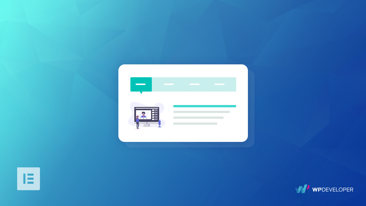 How To Present Your Contents In A Beautiful Way Using Advanced Tabs for Elementor 1