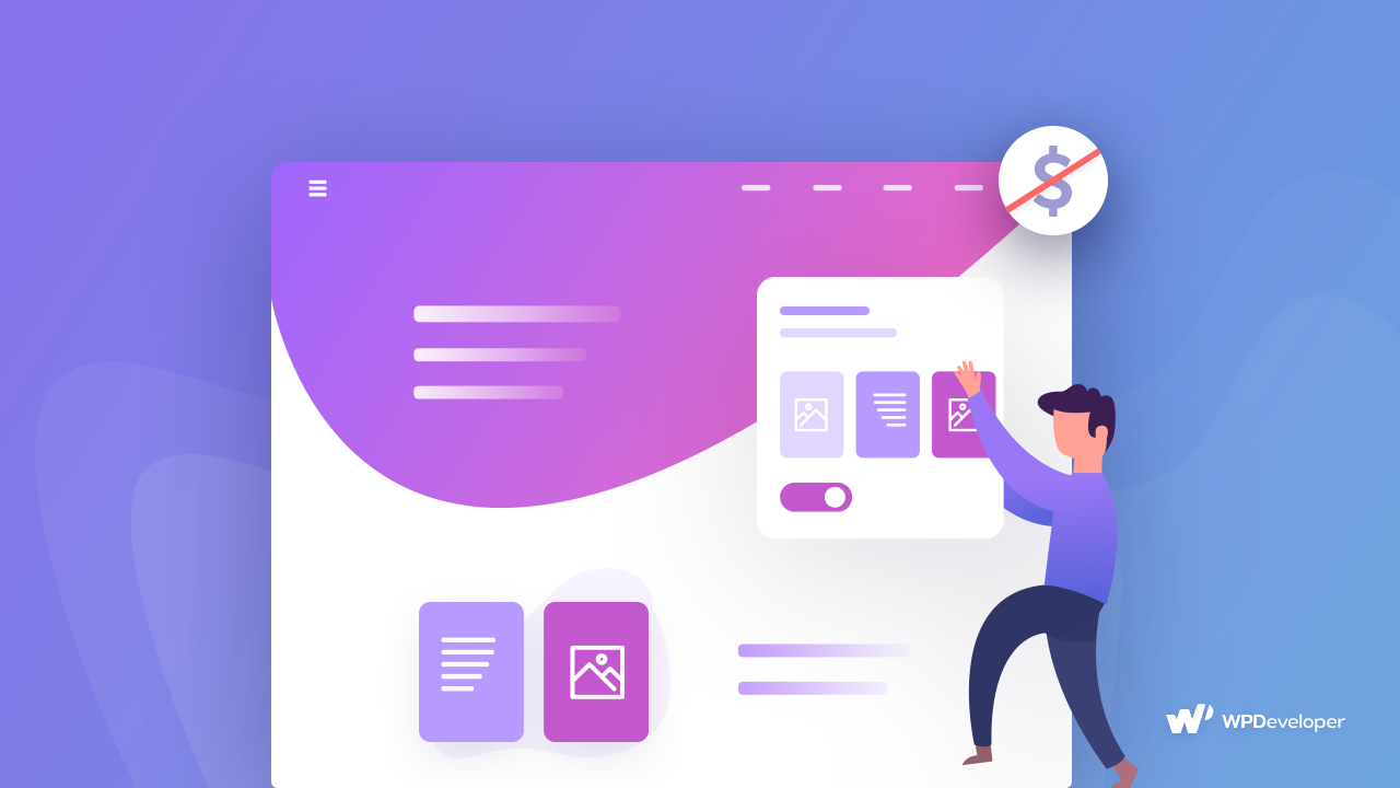 landing page first startup