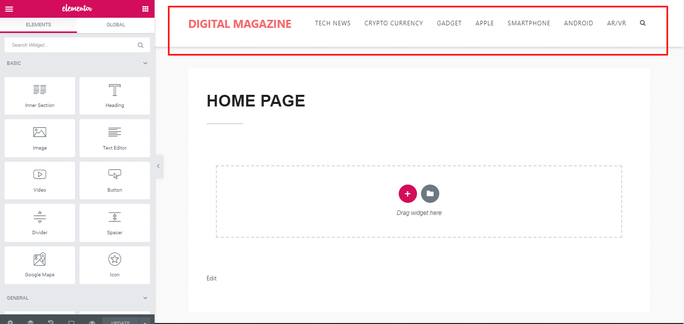 How To Easily Create Stunning Magazine Homepage With Elementor 7