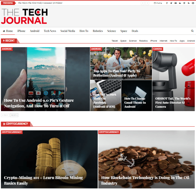 How To Easily Create Stunning Magazine Homepage With Elementor 2