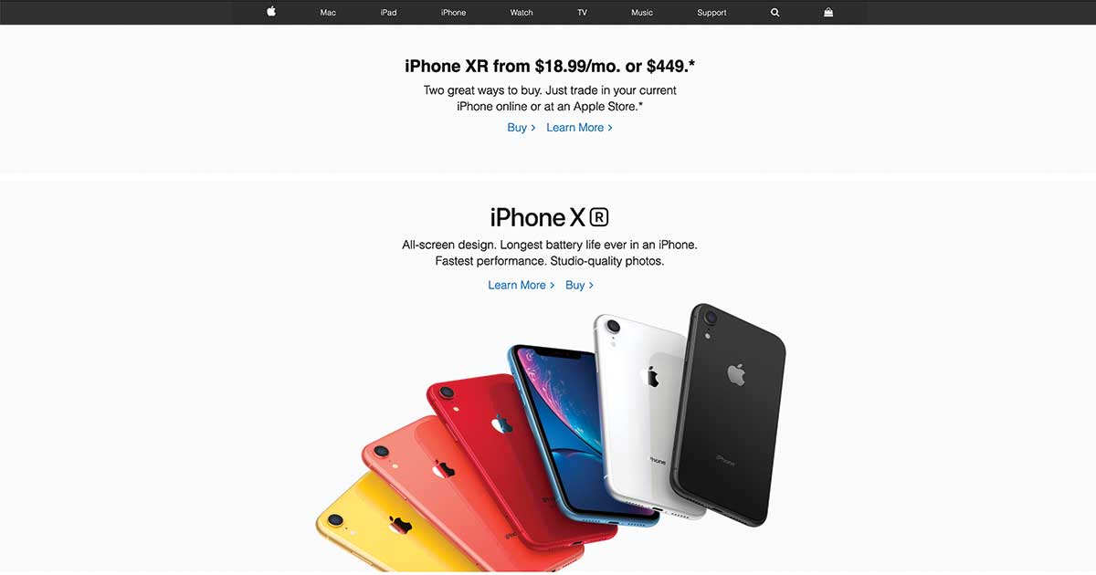 We Recreated Apple.com Home Page With Essential Addons For Elementor! 2