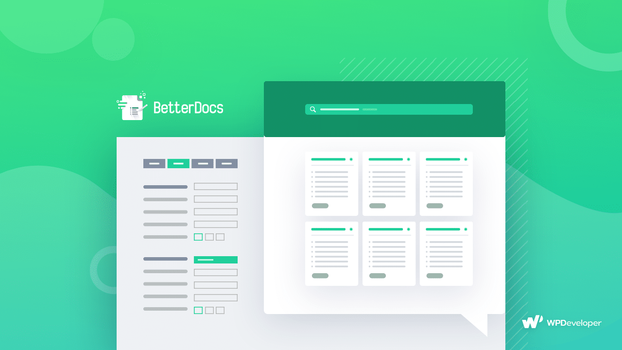 online documentation page BetterDocs