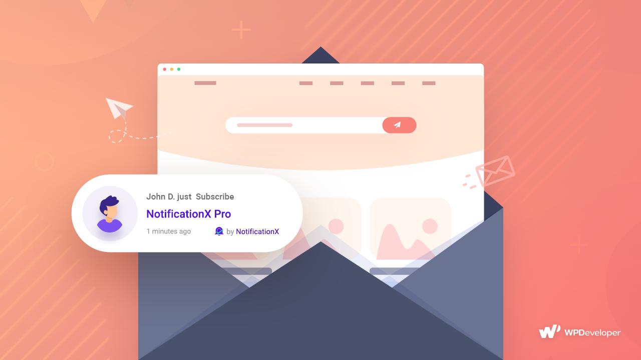 email marketing NotificationX