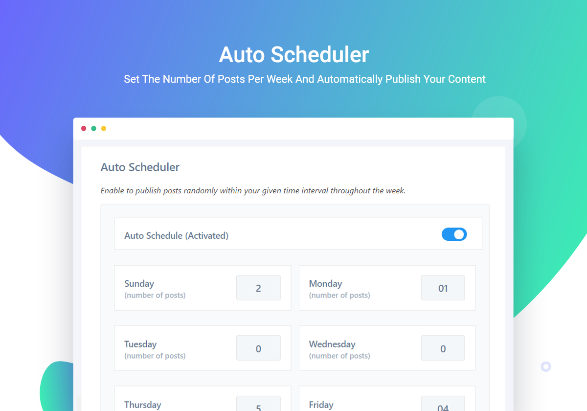 How To Auto Schedule Your Blog Posts In WordPress To Be More Productive In 2020 1